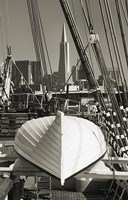Lifeboat and San Francisco Skyline Fine-Art Print