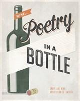 Poetry in a Bottle Fine-Art Print