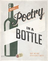 Poetry in a Bottle Fine-Art Print