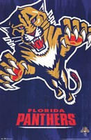 Panthers - Logo 13 Wall Poster