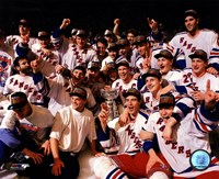 The New York Rangers 1994 Stanley Cup Champions Team Celebration Fine-Art Print