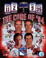 New York Rangers Core Of 1994 Composite Fine-Art Print