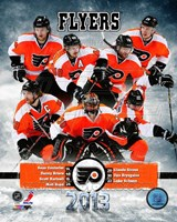 Philadelphia Flyers 2012-13 Team Composite Fine-Art Print