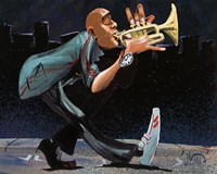 Modern Jazz Step Fine-Art Print