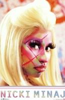Nicki Minaj - Face Paint Fine-Art Print