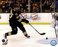 Patrice Bergeron 2012-13 on the ice Fine-Art Print
