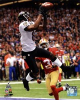 Anquan Boldin Touchdown Super Bowl XLVII Fine-Art Print