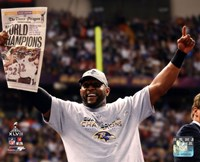 Ray Lewis Super Bowl XLVII Celebration Fine-Art Print