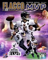Joe Flacco Super Bowl XLVII MVP Portrait Plus Wall Poster