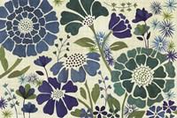 Blue Garden Fine-Art Print
