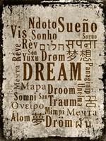 Dream in Multiple Languages Fine-Art Print