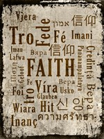 Faith in Multiple Languages Fine-Art Print