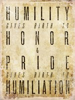 Humility Quote Fine-Art Print