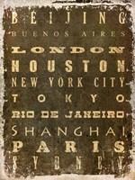 World Cities Fine-Art Print