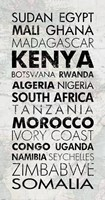African Countries I Fine-Art Print