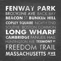 Boston Cities Fine-Art Print