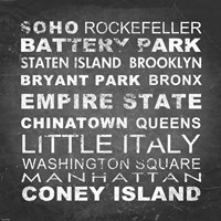 New York Places II Fine-Art Print