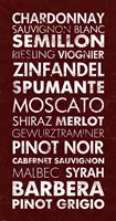 Wine List III Fine-Art Print
