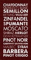 Wine List III Fine-Art Print