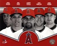 Los Angeles Angels 2013 Team Composite Fine-Art Print