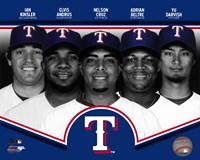 Texas Rangers 2013 Team Composite Fine-Art Print