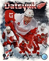 Pavel Datsyuk 2013 Portrait Plus Fine-Art Print