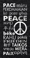 Peace Languages Fine-Art Print