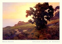 GOLDEN LIGHT AT SUNSET Fine-Art Print