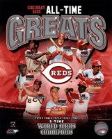 Cincinnati Reds All-Time Greats Fine-Art Print