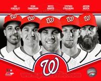 Washington Nationals 2013 Team Composite Fine-Art Print