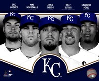 Kansas City Royals 2013 Team Composite Fine-Art Print