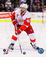 Henrik Zetterberg on Ice 2012-13 Fine-Art Print