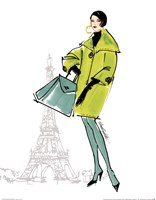 Colorful Fashion II - Paris Fine-Art Print