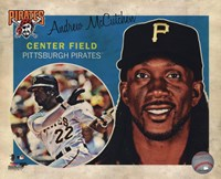 Andrew McCutchen 2013 Studio Plus Fine-Art Print