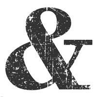 Black Ampersand Fine-Art Print