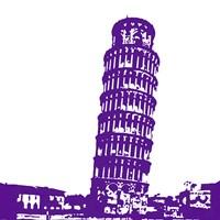 Pisa in Purple Fine-Art Print