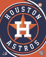 2012 Houston Astros Team Logo Fine-Art Print