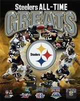 Pittsburgh Steelers All Time Greats Composite Fine-Art Print