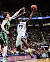 Zach Randolph 2012-13 on the court Fine-Art Print