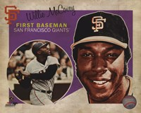 Willie McCovey 2013 Studio Plus Fine-Art Print