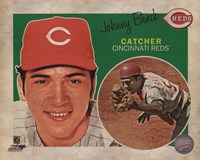 Johnny Bench 2013 Studio Plus Fine-Art Print