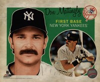 Don Mattingly 2012 Studio Plus Fine-Art Print
