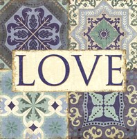 Santorini I- Love Fine-Art Print
