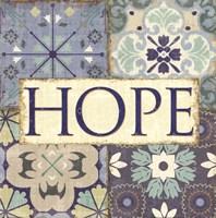 Santorini II- Hope Fine-Art Print