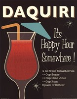 Cocktail Hour III Fine-Art Print