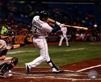 Evan Longoria 2013 Action Fine-Art Print