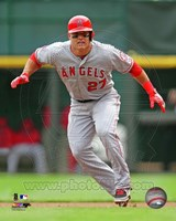 Mike Trout 2013 Action Fine-Art Print