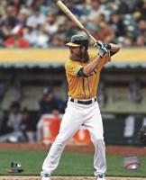 Josh Reddick batting 2013 Fine-Art Print