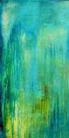 Blue Mountain Rain I Fine-Art Print