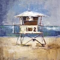 Lifeguard Tower Fine-Art Print